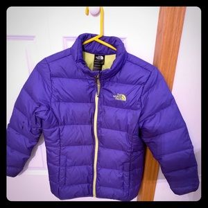 Girls North Face Down Jacket L (14/16)